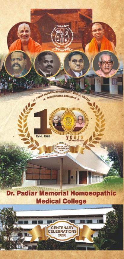 Centenary Celebrations 2020 a